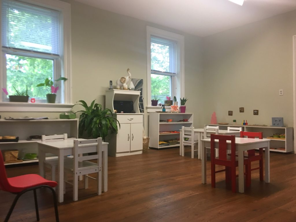 Learning Tree Montessori Toddler Room