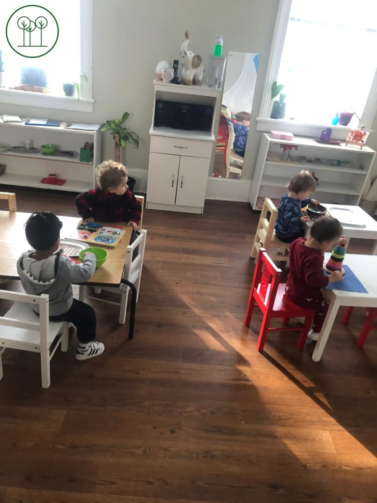 The Toddler Room at Learning Tree Montessori
