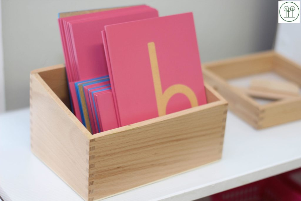 Letters in the Casa Room at Learning Tree Montessori