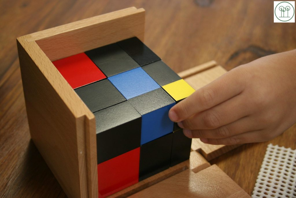 Solving the Trinomial Cube